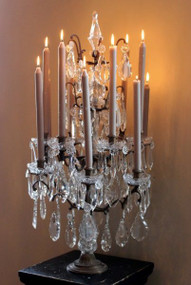 Candelabra - Antique Brass 88cm