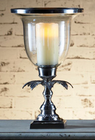 Candle Holder - Antique Silver PLA