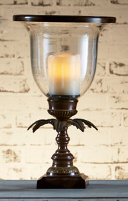 Candle Holder - Antique Brown PLA