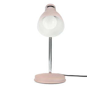 Ies Desk Lamp - Adjustable Classic Look E27 28W Matt Pink