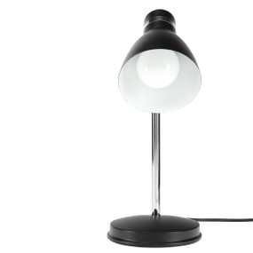 Desk Lamp - Adjustable Classic Look E27 28W Satin Black