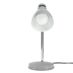 Desk Lamp - Adjustable Classic Look E27 28W Satin Grey