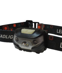 Headlamp - 3W 120lm IP44 60mm Black