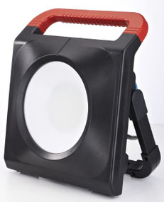 Portable Flood Light - Vandal Resistant 50W 5000lm IP54 IK08 6500K 342mm Black
