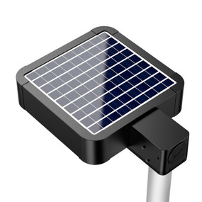 Solar Street Light Motion Sensor With Remote - Industrial Strength 15W 1500lm IP65 4000K