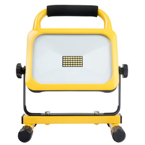 Portable Worklight - 20W 1800lm IP44 6200K 286.5mm Yellow