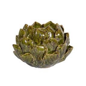 Green Ceramic Tealight Candle Holder