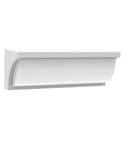 Wall Light - 13W 910lm IP65 3000K 230mm White