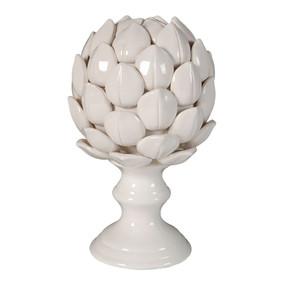 Plant Sculpture - White