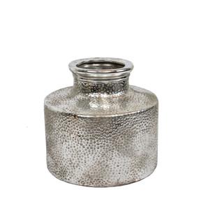 Vase - Silver 21cm