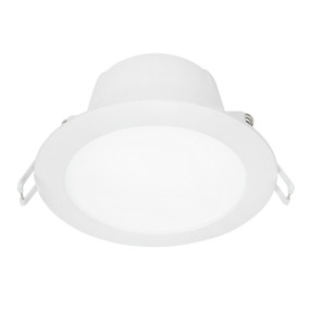 LED Downlight - 8.5W 880lm IP44 4200K 110mm White Dimmable