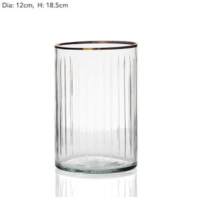 Glass - Clear 19cm