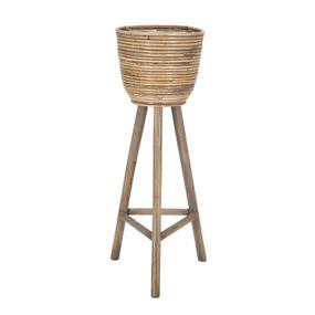 Standing Basket - Natural 74cm