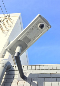 Solar Street Light With Camera and Motion Sensor - 30W IP66 IK08 3 Mega Pixels