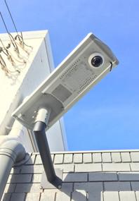 Solar Street Light With Camera and Motion Sensor - 15W IP66 IK08 3 Mega Pixels