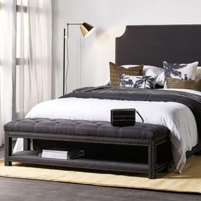 E27 40W Floor Lamp 1650mm Brass, Black and White