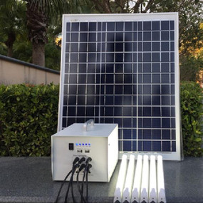 Solar Portable Lighting System - 12V 18W IP65 215mm