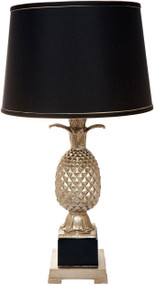 Table Lamp - B22 40W 660mm Black and Gold