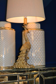 Table Lamp - B22 40W 680mm Antique Gold
