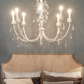 Chandelier - E14 320W 800mm White