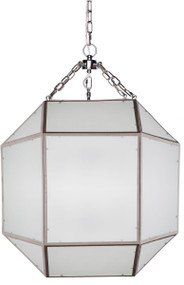 Pendant Light - E14 240W 840mm White and Chrome