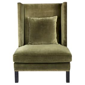 Arm Chair - Green Velvet LRD