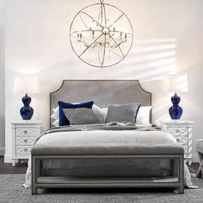 Bedside Table - White PLT