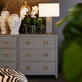 Chest of Drawers - Black and White RFF