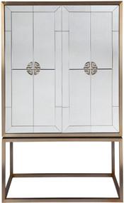 Drinks Cabinet - Antique Brass RCH