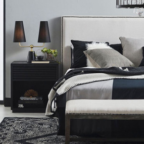 Bedside Table - Black BHM