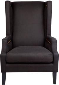 Arm Chair - Black Linen EMP