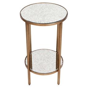 Side Table - Antique Gold CKT