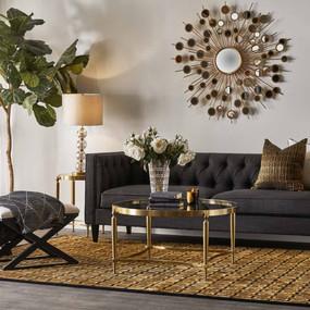 Sofa - Charcoal and Black TXD