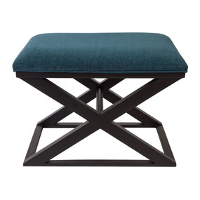 Stool - Teal and Black SPN