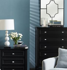 Wall Mirror - Black BYD