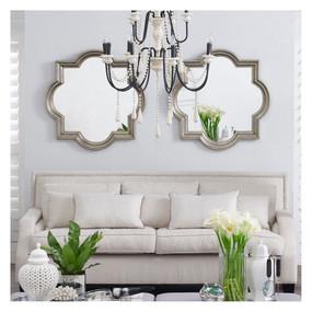 Wall Mirror - Antique Silver MRR
