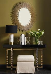 Wall Mirror - Antique Gold FRN