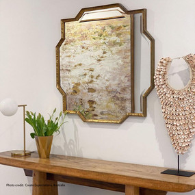Wall Mirror - Gold TJM