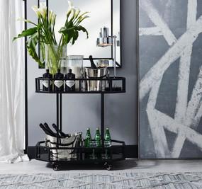 Wall Mirror - Black ZML