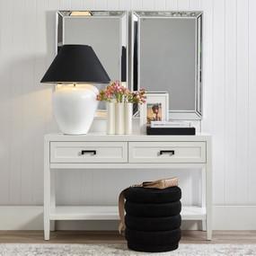 Wall Mirror - White ZTM