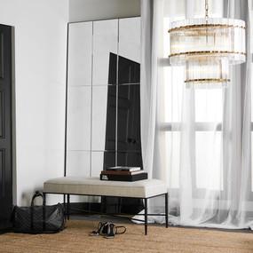 Floor Mirror - Black BLG