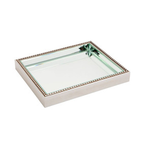 Tray - Antique Silver ZTS