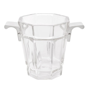 Ice Bucket - Clear and Nickel MDS