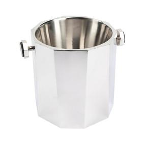 Ice Bucket - Chrome and Black MRT