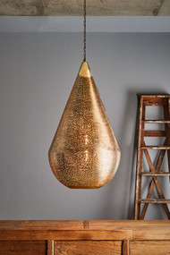 Pendant Light - E27 500mm Antique Brass