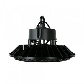 High Bay LED Light - Vandal Resistant 200W 26000lm IP65 IK10 5000K 310mm Black