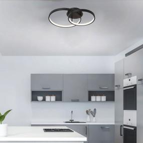 Ceiling Light - 54W 2500lm 3000K 450mm Black