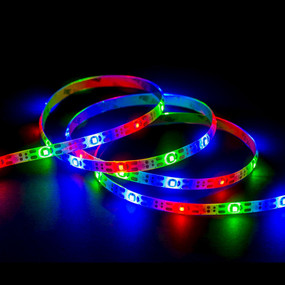 Solar LED Strip Light - 3m Super Bright IP65 RGB