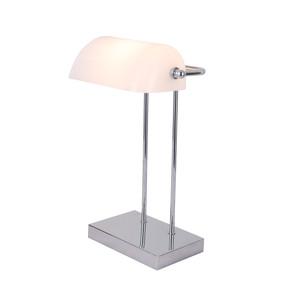 Desk Lamp - E14 40W 420mm Chrome and White