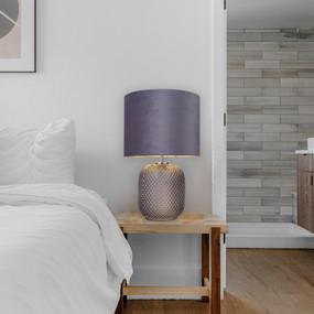 Table Lamp - E14 40W 420mm Grey